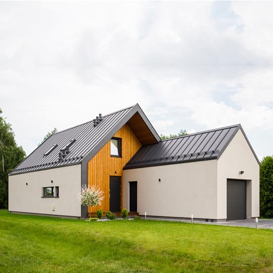 Domy energooszczędne - przykładowa realizacja firmy budowlanej NOKON
