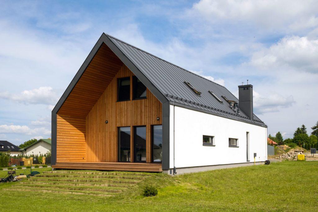 Domy energooszczędne - realizacja firmy budowlanej NOKON